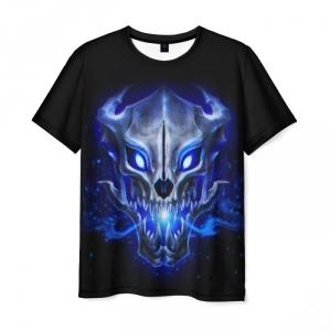 Merchandise Men'S T-Shirt Black Print Muzzle Undertale