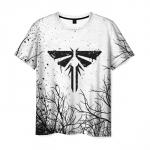 Merchandise Men'S T-Shirt Emblem Game The Last Of Us Title Design