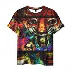 Merchandise Men'S T-Shirt Graphic Image Hotline Miami Game Design