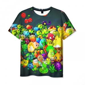 Collectibles Men'S T-Shirt Characters Plants Vs Zombies Merch Design