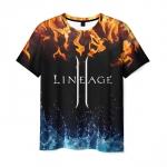 Collectibles Men'S T-Shirt Lineage Black Title Design Print