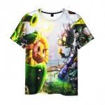 Merchandise Men'S T-Shirt Plants Vs Zombies Merchandise Footage