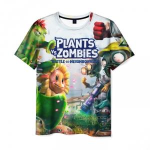 Collectibles Men'S T-Shirt Title Plants Vs Zombies Footage Merchandise