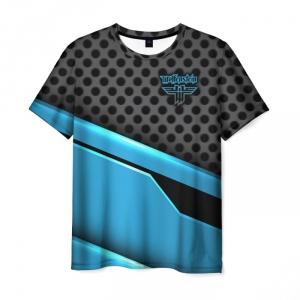 Merchandise Men'S T-Shirt Print Wolfenstein Graphic Merchandise