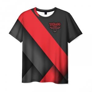 Merchandise Men'S T-Shirt Wolfenstein Image Design Print