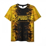 Collectibles Men'S T-Shirt Print Label Game Merch Pubg