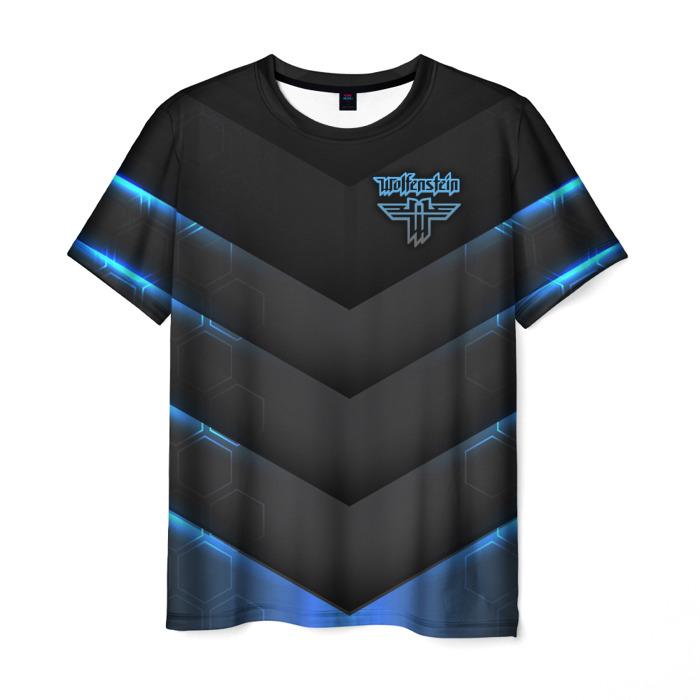 Merchandise Men'S T-Shirt Game Design Wolfenstein Print