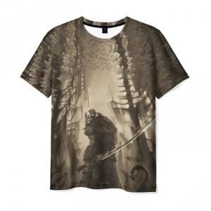 Merchandise Men'S T-Shirt Juggernaut Dota Brown Scene Print
