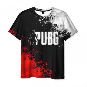 Merch Men'S T-Shirt Pubg Title Merch Print