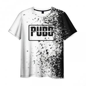 Merch Men'S T-Shirt White Design Pubg Merch