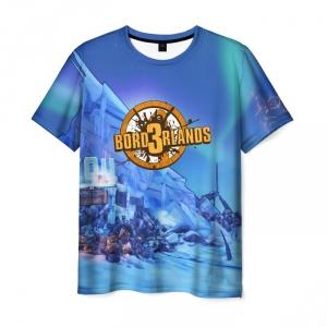 Merch Men'S T-Shirt Borderlands Game Merch Print