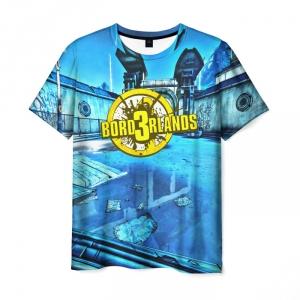 Merch Men'S T-Shirt Game Borderlands Print Text Merch