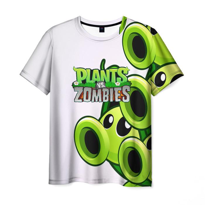 Merch Men'S T-Shirt Merch Plants Vs Zombies White Print