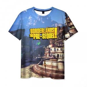 Merch Men'S T-Shirt Borderlands The Pre Sequel Print Merch