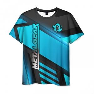 Merchandise Men'S T-Shirt Graphic Print Game Metal Gear