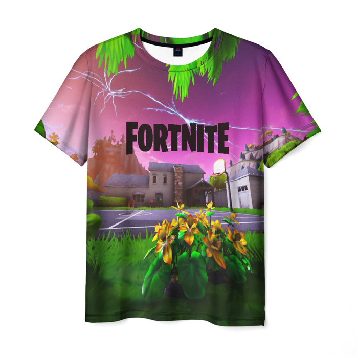 Collectibles Men'S T-Shirt Footage Fortnite Print Text