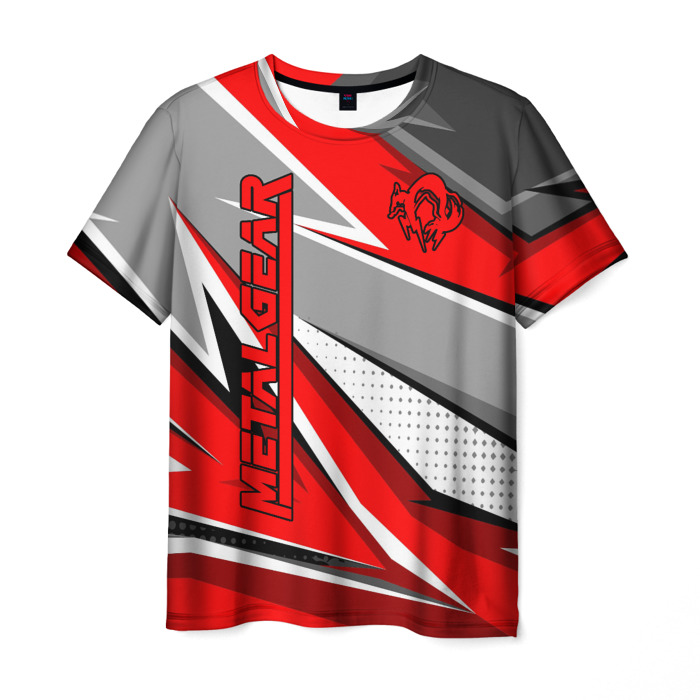 Merchandise Men'S T-Shirt Game Metal Gear Design Title Clothes