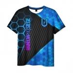Merchandise Men'S T-Shirt Apparel Rainbow Six Siege Print Merch