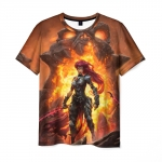 Collectibles Men'S T-Shirt Scene Print Darksiders Apparel