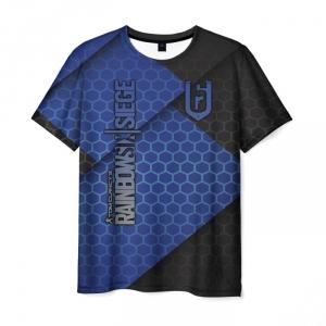 Merch Men'S T-Shirt Merch Rainbow Six Siege Apparel Label