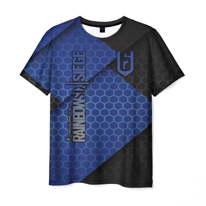 Collectibles Men'S T-Shirt Merch Rainbow Six Siege Apparel Label