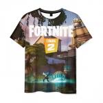 Merchandise Men'S T-Shirt Fortnite Chapter 2 Scene Design Merch