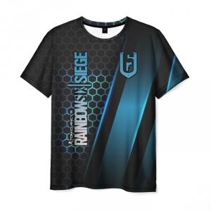 Merch Men'S T-Shirt Clothes Merch Title Rainbow Six Siege