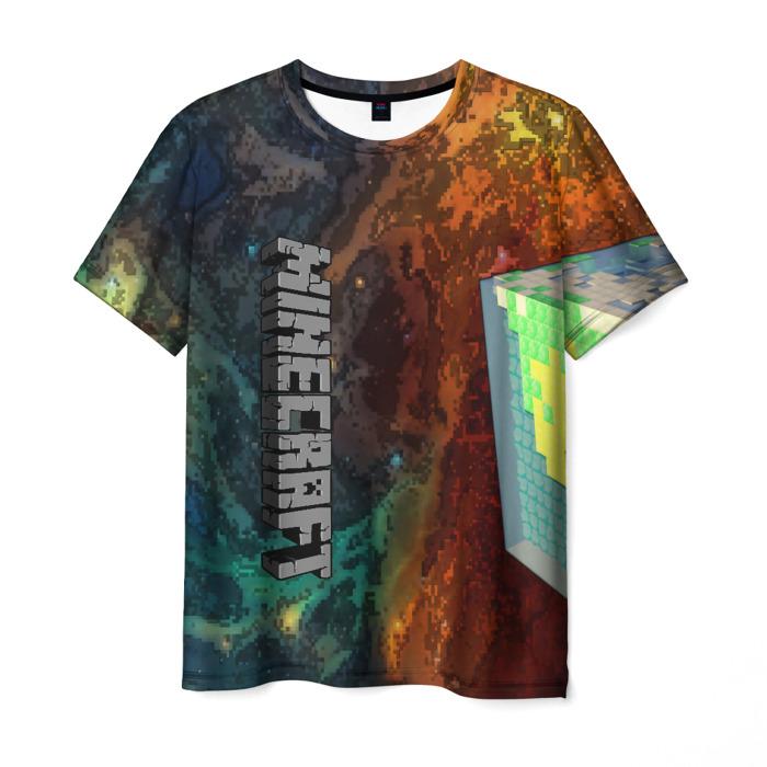 Collectibles Men'S T-Shirt Game Print Minecraft Design