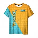 Merchandise Men'S T-Shirt Title Plants Vs Zombies Print Clothes