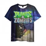 Merchandise Men'S T-Shirt Plants Vs Zombies Scene Design Title