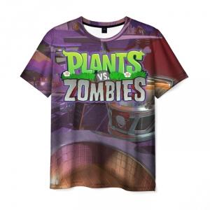 Collectibles Men'S T-Shirt Merch Design Text Plants Vs Zombies