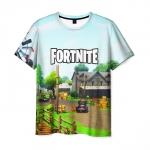 Merchandise Fortnite T-Shirt Game Scene Design Print