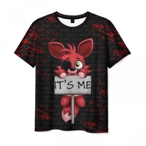 Merch Men'S T-Shirt Print Game Merch Five Nights At Freddy'S