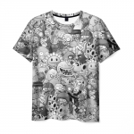 Merch Men'S T-Shirt Plants Vs Zombies Pattern Apparel