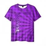 Collectibles Men'S T-Shirt Plants Vs Zombies Purple Print Merch