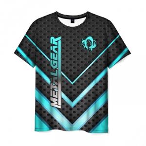 Merchandise Men'S T-Shirt Game Print Metal Gear Apparel