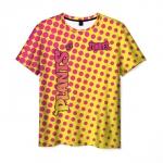 Merchandise Men'S T-Shirt Yellow Pattern Plants Vs Zombies Merch
