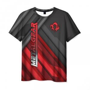 Merchandise Men'S T-Shirt Metal Gear Clothes Design Lines