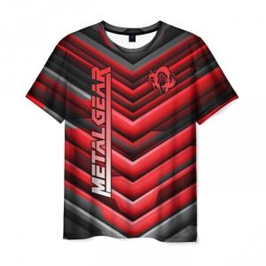 Merchandise Men'S T-Shirt Merch Design Label Metal Gear