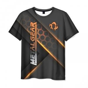 Merchandise Men'S T-Shirt Clothes Design Metal Gear Text