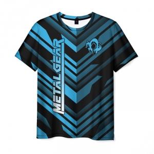 Merchandise Men'S T-Shirt Design Title Metal Gear Merch