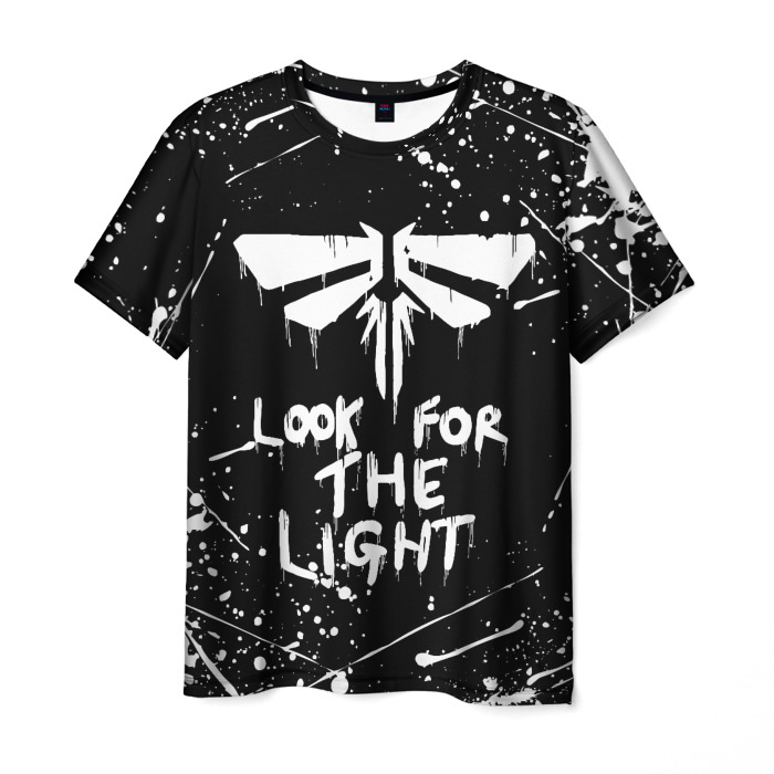 Merchandise Men'S T-Shirt Merch The Last Of Us Black Design