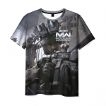 Merchandise Call Of Duty T-Shirt Cod Scene Print Merch
