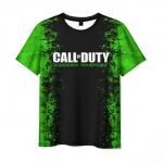Merchandise Men'S T-Shirt Call Of Duty Black Design Print