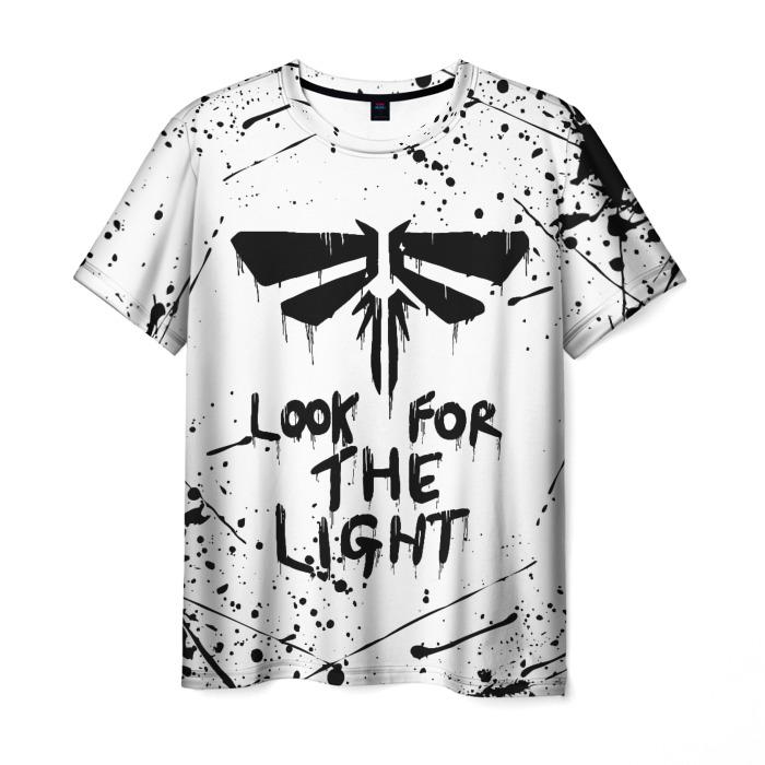 Merchandise Men'S T-Shirt Print Design White The Last Of Us