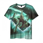 Collectibles Men'S T-Shirt Ciri Witcher Scene Picture