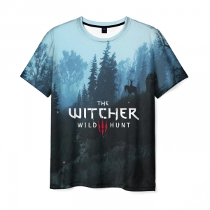 Merch Men'S T-Shirt Witcher Clothes Design Print