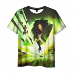 Collectibles Men'S T-Shirt Yennefer Witcher Scene Print
