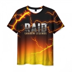 Collectibles Men'S T-Shirt Raid Shadow Legends Lighting Print