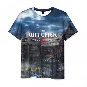 Merch Men'S T-Shirt Witcher Design Merchandise Print
